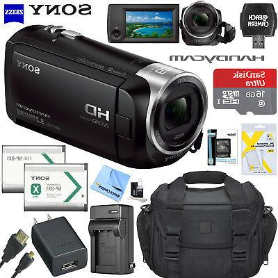 hdr cx405 hd video handycam camcorder memory