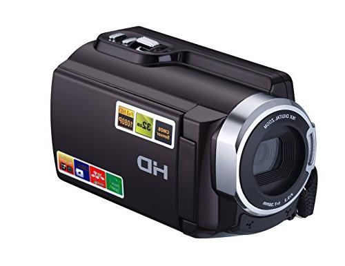 KINGEAR 1080P Digital Camcorder Wifi