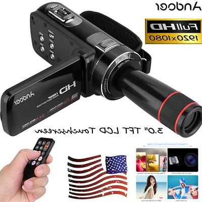 Andoer 24MP Video Camcorder S8P0