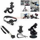 Monopod Helmet Suction Cup Holder Mount Bike kit Accessories
