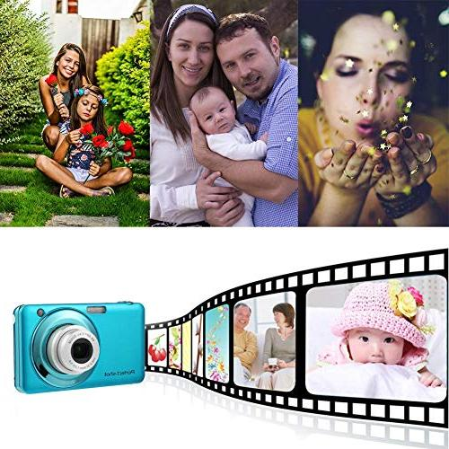 Youtiankai Camera Inch Digital Camera Zoom 24MP Children Camcorder
