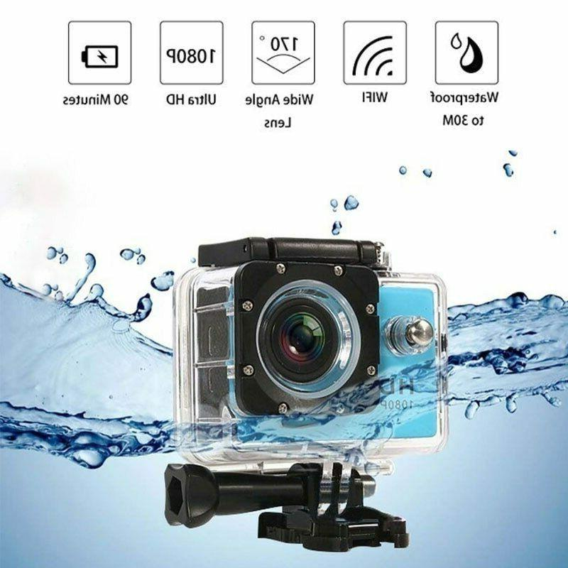 Outdoor Action Camera HD Screen Underwater