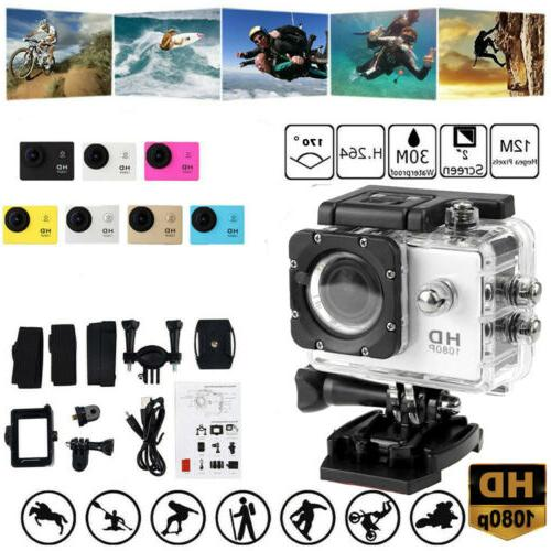 Full HD Action Camera Sport Camcorder Waterproof DVR Helmet