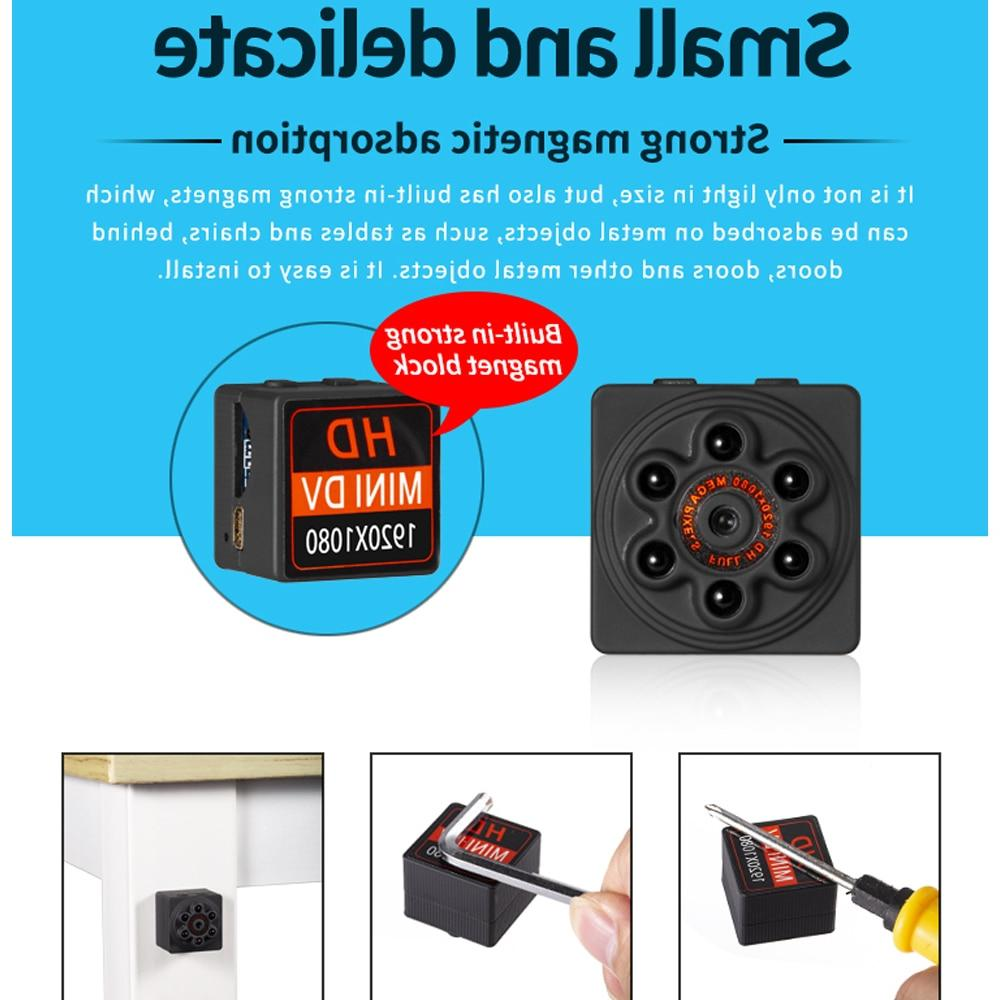 S1000 1080P Portable Magnetic Suction IR <font><b>Camcorder</b></font> Recorder Cam
