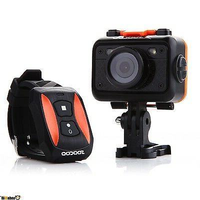 SOOCOO LCD 170-degree Wide 1080P WiFi Sports A