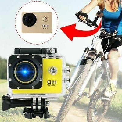 HD 1080P Action Camera DVR Helmet Cam Underwater Stock
