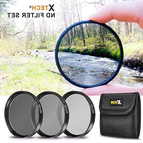 Ultimate FILTERS KIT including: 58mm HD filters + 58mm ND + +
