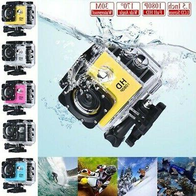 HD 1080P Ultra Sport Action Camera DVR Helmet Cam Underwater