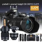 "POLO Ultra HD 1080P 33MP 3"" LCD 24X ZOOM LED Digital DSLR Ca"