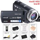 US Video Camcorder, Besteker HD 1080p IR Night Vision Max. 2