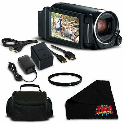 vixia hf r800 camcorder black full hd