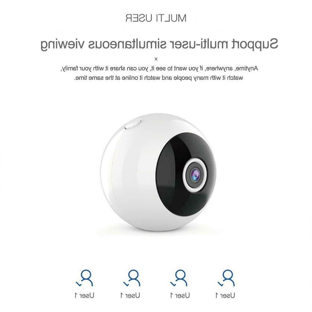 W8 Full HD WIFI Mini Home Night Camera Camcorder