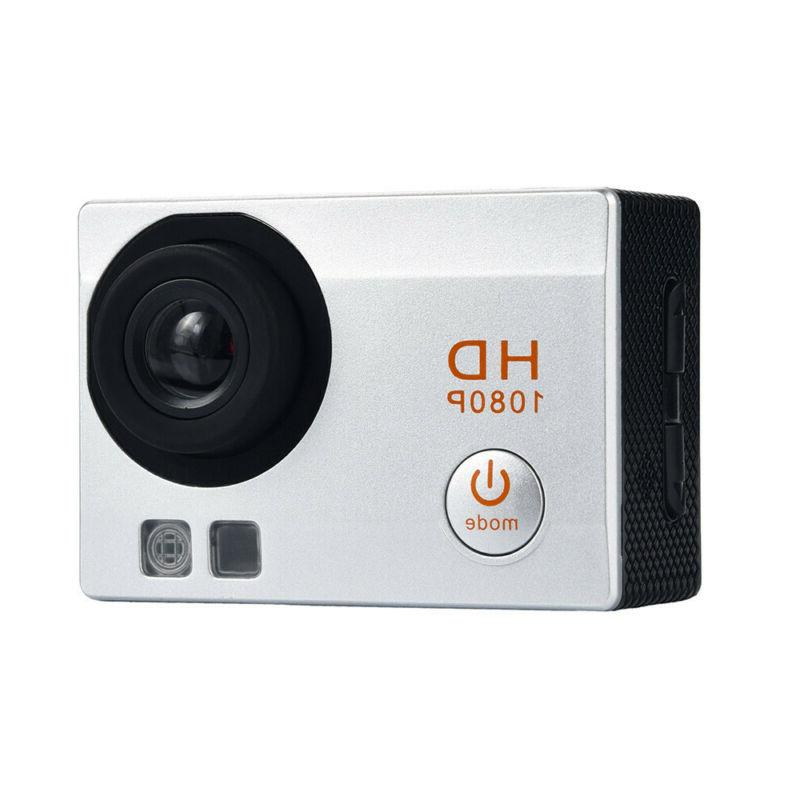 Full HD 1080P Waterproof Camera 2.0 Inch Camcorder Sports DV