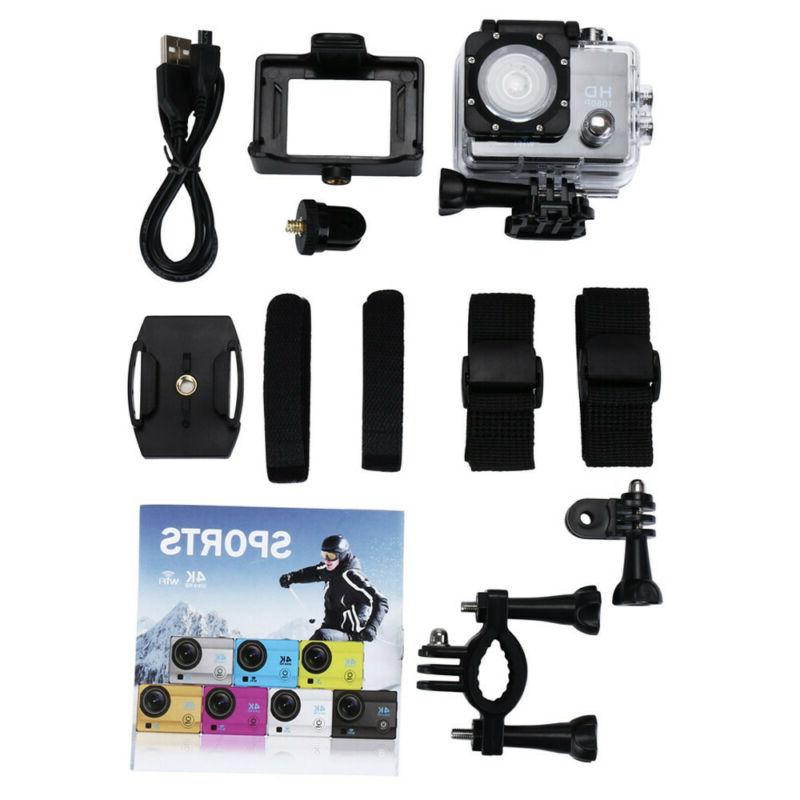 Waterproof 1080P Ultra HD Action Camera DVR DV Camcorder