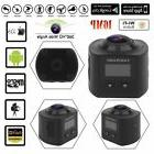 WIFI 4K 30fps 16MP Sport Action Camera 360° Ultra HD Panora