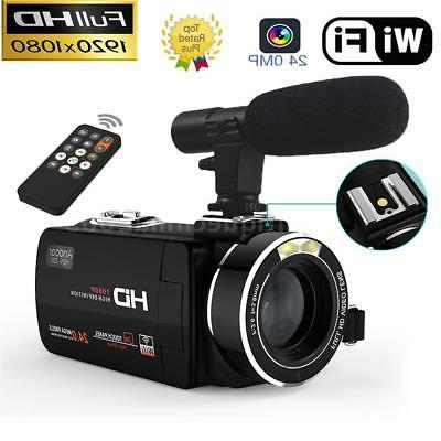 "WiFi HD 1080P 24MP 3""IPS Touch Screen 16X ZOOM Digital Video"