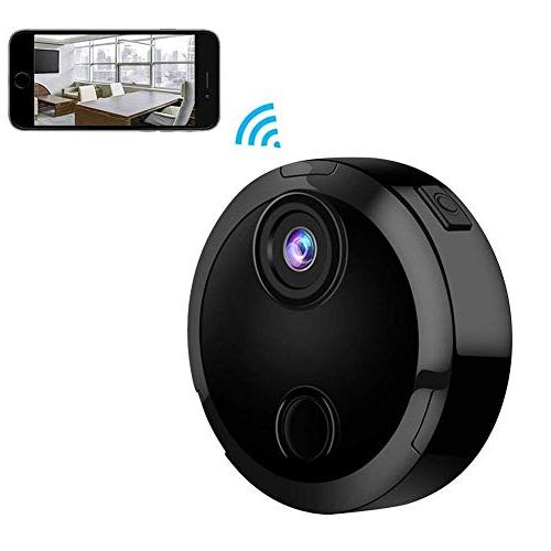 Feel-ling Camera,Mini WiFi Night Car Sport Camera iPhone/Android Remote Detection