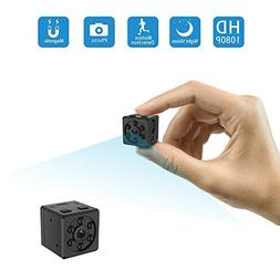 Mini Camera, HD 1080P Portable Covert Body Cam with Night Vi