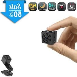 Mini Spy Camera, CHUHE 1080P Portable HD Covert Body Camera
