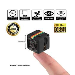 Crazepony Mini Camera SQ11 HD Camcorder 3.6mm Night Vision F