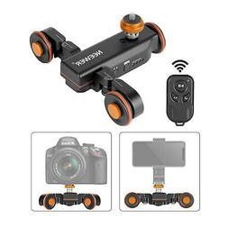 Neewer Motorized Camera Video Dolly 3 Speed Adjustable for D