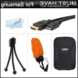 ButterflyPhoto Must Have Accessory Kit For Samsung HMX-W200