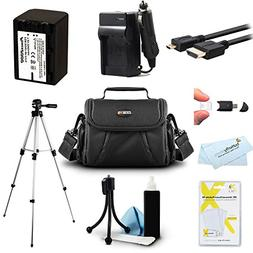 Must Have Accessory Kit For Sony HDR-CX230, HDR-CX330, HDR-C