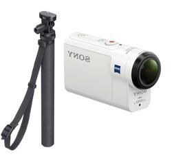 NEW Sony Action Cam HDR-AS300 HD Waterproof WHITE Video Came
