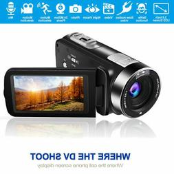 NEW HD 1080P 16MP 16X ZOOM Digital Video Camcorder Camera DV