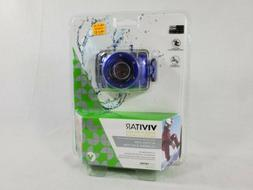 New! Vivitar HD Action Waterproof Camera / Camcorder - BLUE