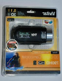 NEW SEALED Vivitar DVR 790HD  3D Camcorder
