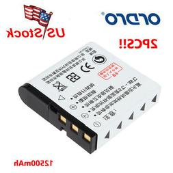 Ordro NP-40 3.7V 1250mAh Battery For Ordro Z20 Z80 Z8 Plus D