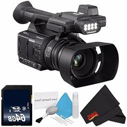 Panasonic AG-AC30 Full HD Camcorder with Touch Panel LCD Vie