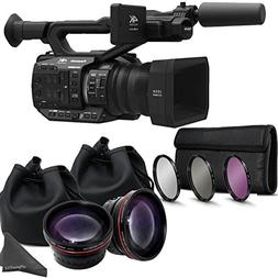 Panasonic AG-UX90 4K/HD Professional Camcorder with Dual Aux