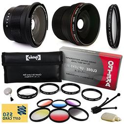 Professional Panoramic Macro Lens & Filters Accessories Bund
