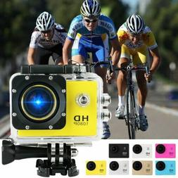 Pro Action Camera HD 4K Camcorder Waterproof DV Sport Video