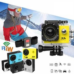 SJ9000 4K Ultra HD Action Sports Camera Waterproof WiFi DV D