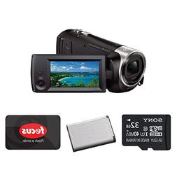 Sony HD Handycam Camcorder  with Sony 32GB Accessory Bundle