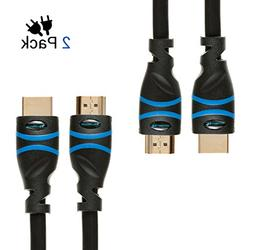 BlueRigger High Speed HDMI Cable with Ethernet, Supports 3D