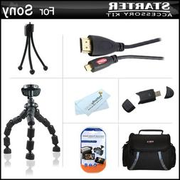 Starter Accessories Kit For The Sony HDR-PJ230, HDR-PJ230/B