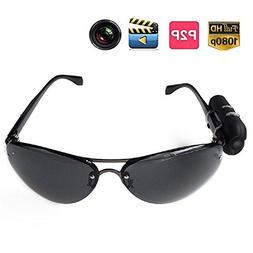 Jiusion Sunglasses HD 1920 x 1080 Surveillance Hidden Camera