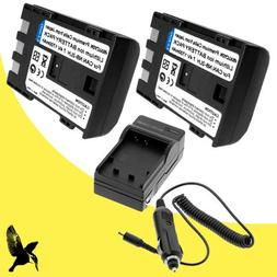 Two Halcyon 1700 mAH Lithium Ion Replacement Battery and Cha