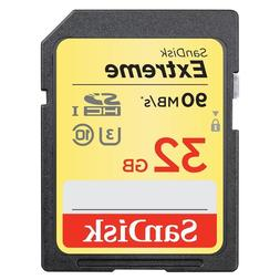 Sandisk 32G extreme U2 4K Ultra HD SD card for Canon XC15 XC