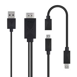 Yinguo Universal Micro USB to HDMI Adapter Converter Cable 1