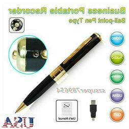 US HD Spy Camcorder Pen Mini DVR Camera/Video/Sound Recorder