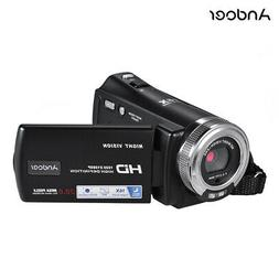 Andoer V12 Digital Camera Full HD 1080P Video Camcorder 20MP