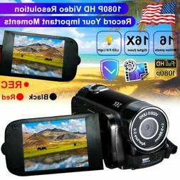 Video Camera Camcorder Vlogging Camera Full HD 1080P Digital