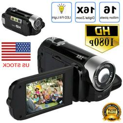 Video Camera Camcorder Vlogging Camera Full HD 1080P YouTube