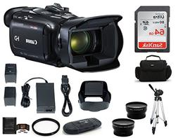 Canon VIXIA HF G21 Full HD Camcorder Bundle, Includes: 64GB