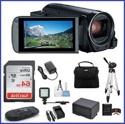 Canon VIXIA HF R80 Full Camcorder Ultimate Bundle, includes: